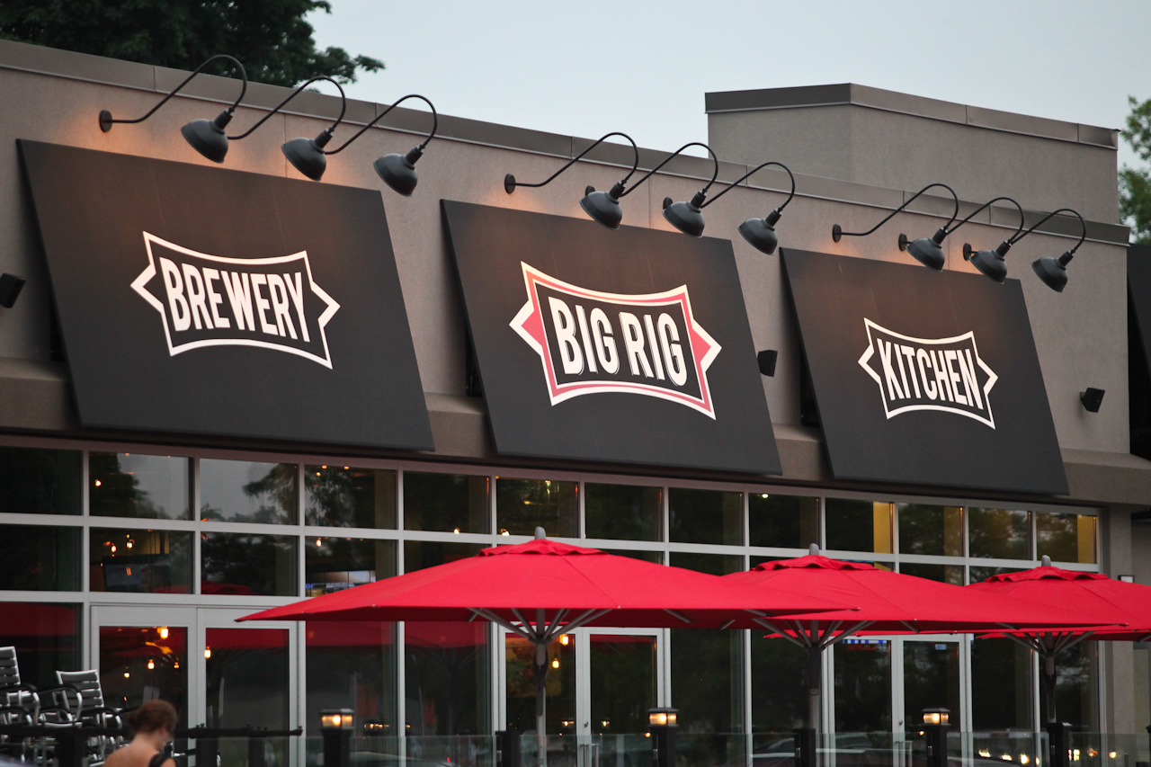 BIG RIG KITCHEN and BREWERY